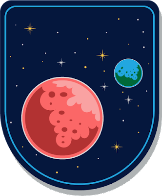 Mars, Dünya Logo Vektörel