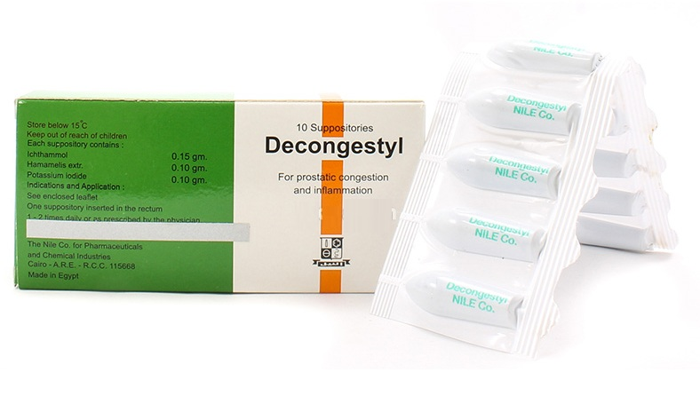 ديكونجستيل D econgesty لعلاج ألتهاب البروستاتا 2018
