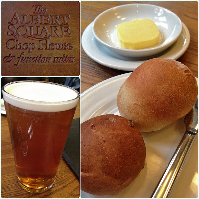 The Albert Square Chop House, Manchester - Bread