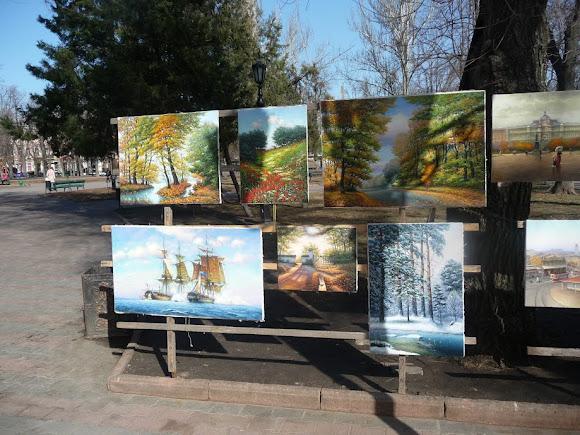 Одесса. Соборная площадь
