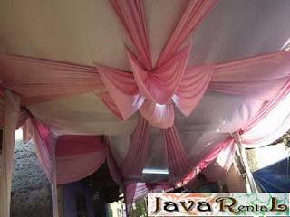Sewa Tenda Semi Dekor - Rental Tenda Semi Dekor Jakarta