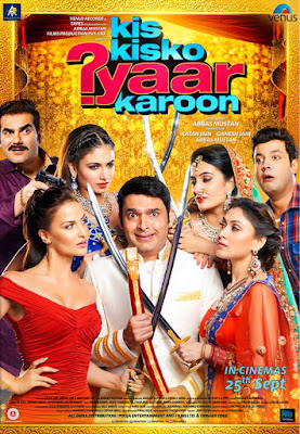 Kis Kisko Pyaar Karu (2015) Watch full hindi comedy movie(Kapil Sharma )