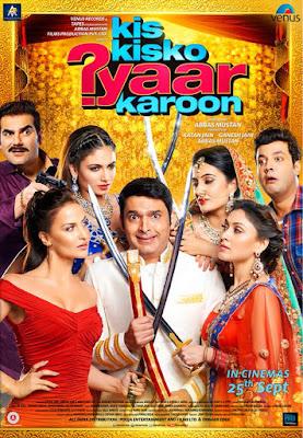 Kis Kisko Pyaar Karu (2015) Watch full hindi comedy movie(Kapil Sharma )