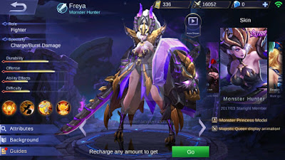 Information of Freya