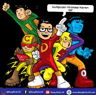 Kumpulan Animasi Keren Gif Blogger Indonesia