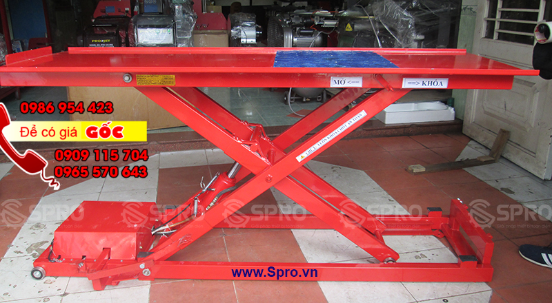 www.123nhanh.com: Đại lý bán bàn nâng sửa xe gắn máy chuẩn Honda tại tp HC