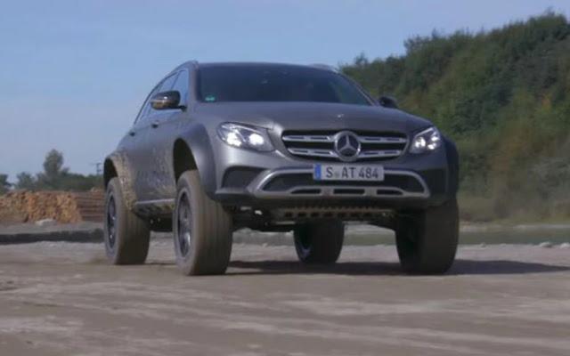 Mercedes G500 4x4 Squared все больше становится похожим на внедорожник