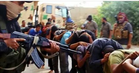 عاجل : اختطاف داعش 13  مصريا .. شاهد أين وكيف تم اختطافهم !!