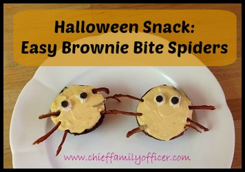 Halloween Brownie Bites - chieffamilyofficer.com