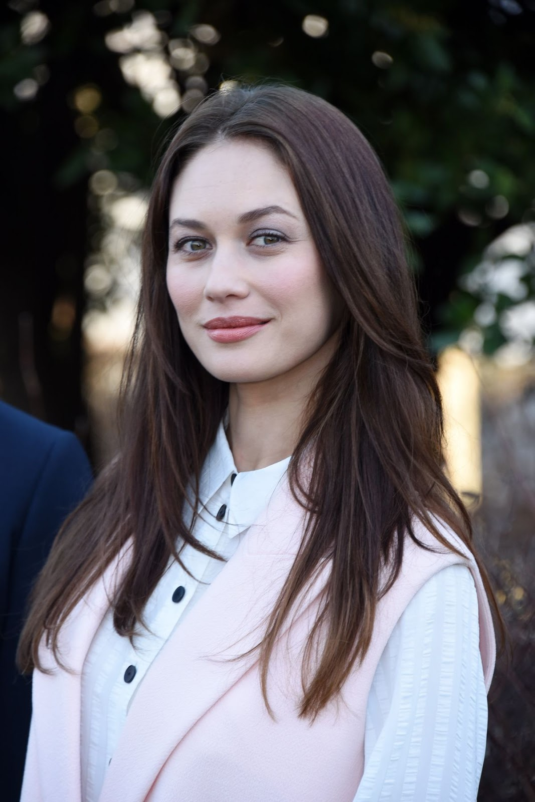 Olga Kurylenko at Christian Dior Fashion Show in Paris
