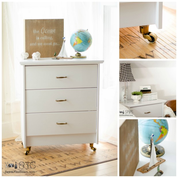 ikea dresser hacks as nightstands from thrifty decor chick. Black Bedroom Furniture Sets. Home Design Ideas