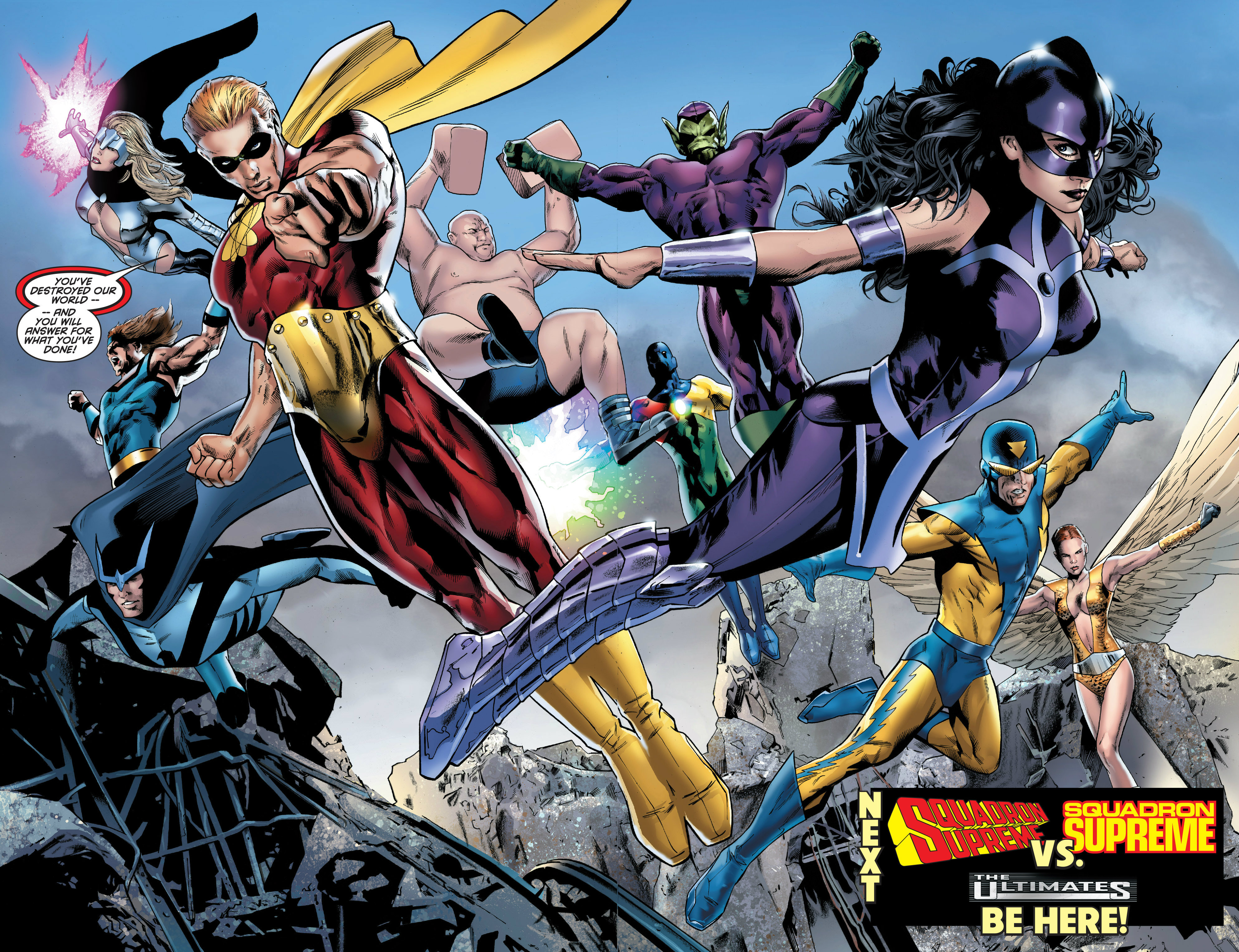 Read online Ultimate Power comic -  Issue #7 - 22