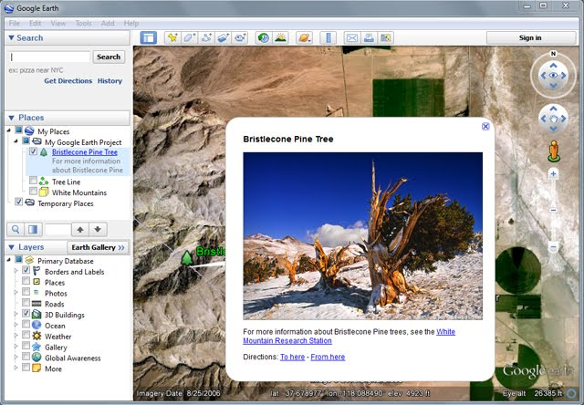 Embed Images in your Balloons on Google Earth Pro