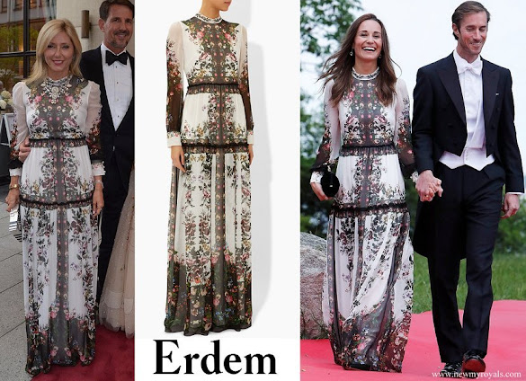 Princess Marie Chantal and Pippa Middleton wore Erdem Kenzie dress