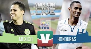 México vs Honduras en Eliminatorias CONCACAF hacia el Mundial de Rusia 2018