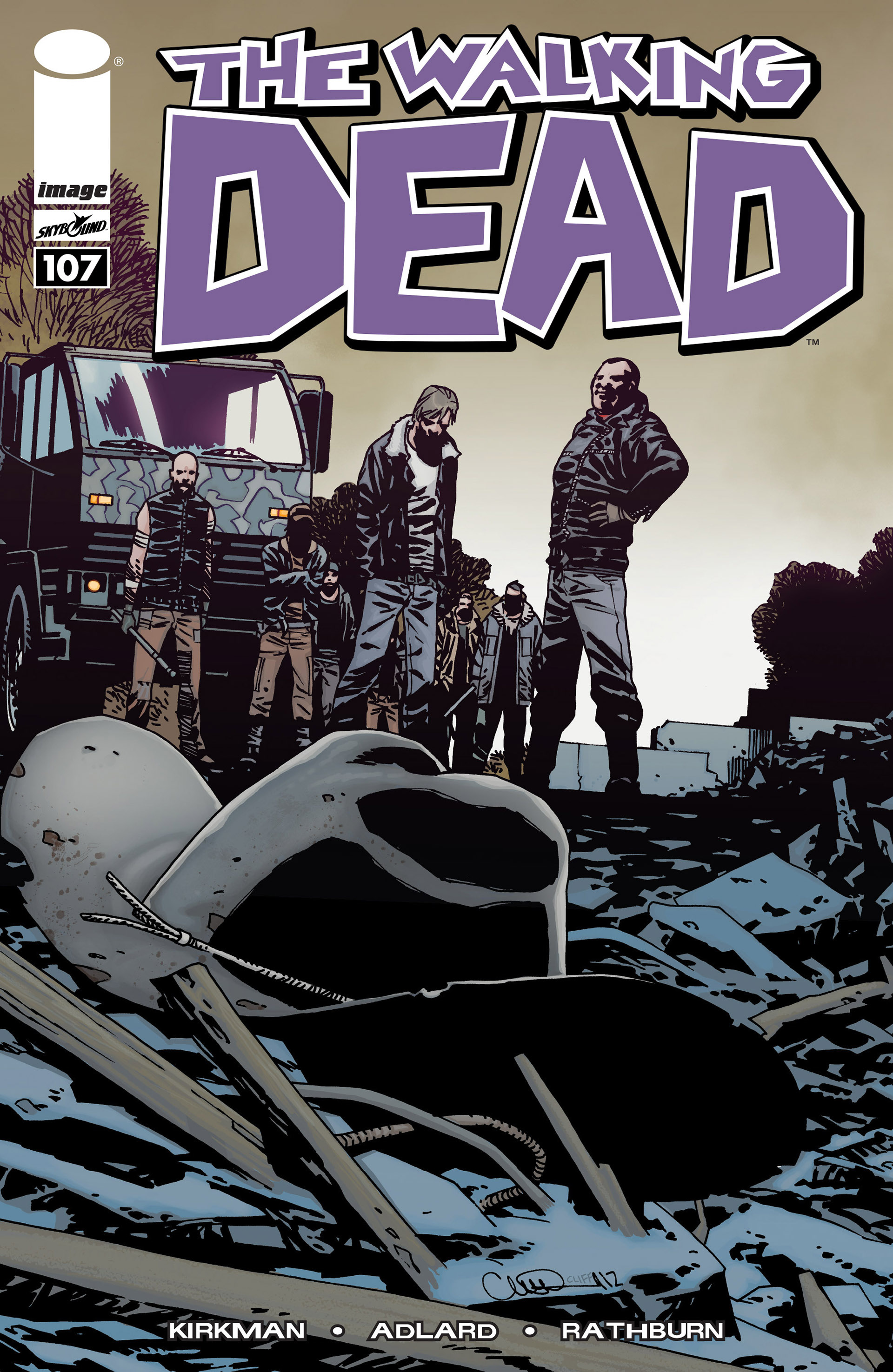 The Walking Dead 107 Page 1
