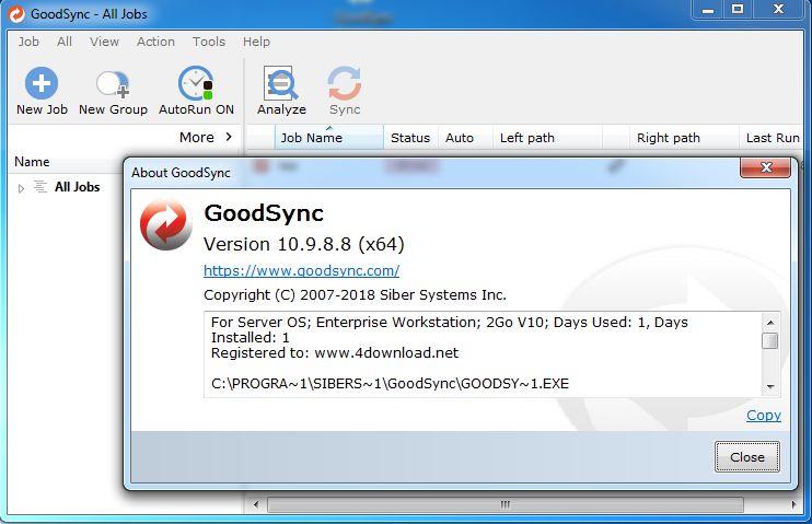 GoodSync Enterprise v10 9 8 8 Full version » 4DOWNLOAD