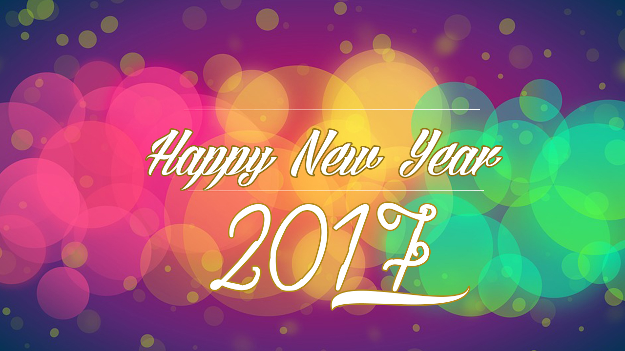 Happy New Year 2017 Wallpapers Collections Part 3