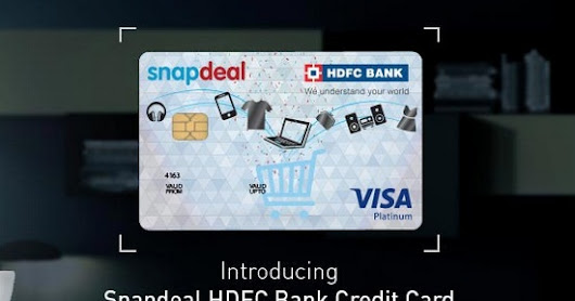 SnapDeal HDFC Debit/Credit Card Offer: 10% Discount On Snapdeal