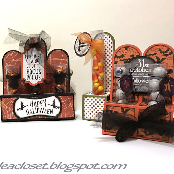 Halloween Test Tube Favors