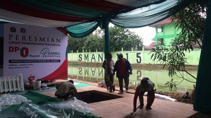 Anies-Sandi Beda Omongan Soal Batalnya Groundbreaking Rumah DP 0 di Rorotan