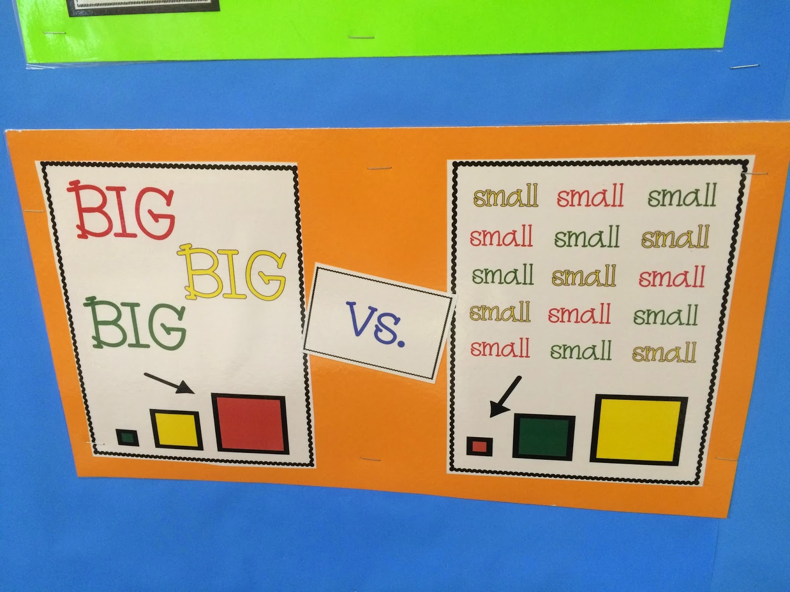 Daily Math Practice Level 1 Big Small More Less Colors