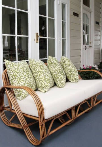 Vintage Bamboo Patio Outdoor Furniture