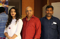 Kiran Chetwani with Janani Iyyer and others at Lakshmi Devi Samarpinchu Nede Chudandi Movie Interview 009.JPG
