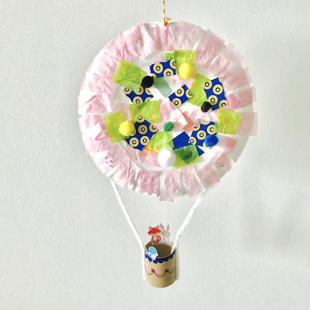 Cute & Easy Hot Air Balloon Craft for Kids | Linzer Lane Blog