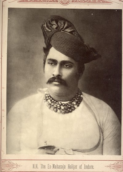 The Maharaja of Holkar of Indore - Late 19th Century Photograph
