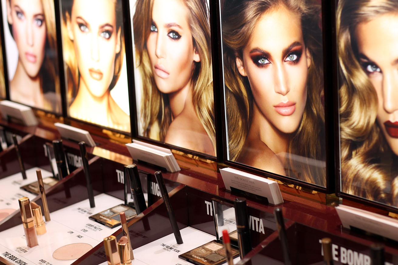 Mother's Day beauty at Selfridges, charlotte tilbury at selfridges