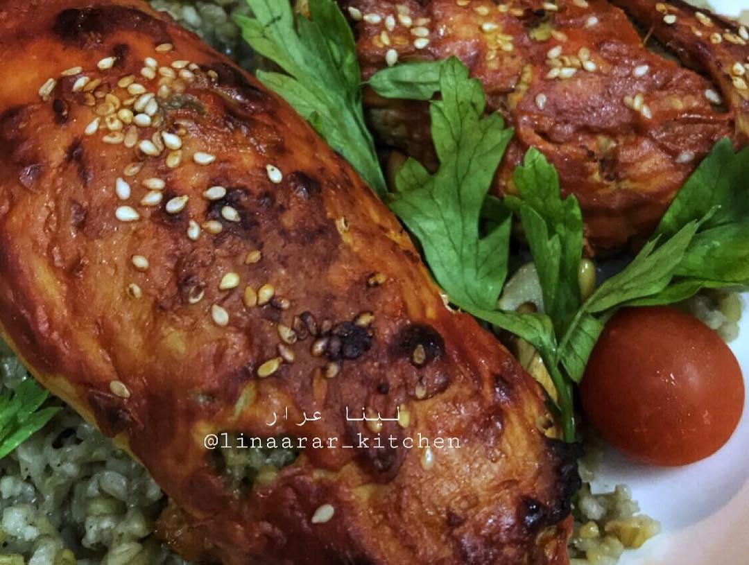 وصفة صدور دجاج بحشوة الفريكة