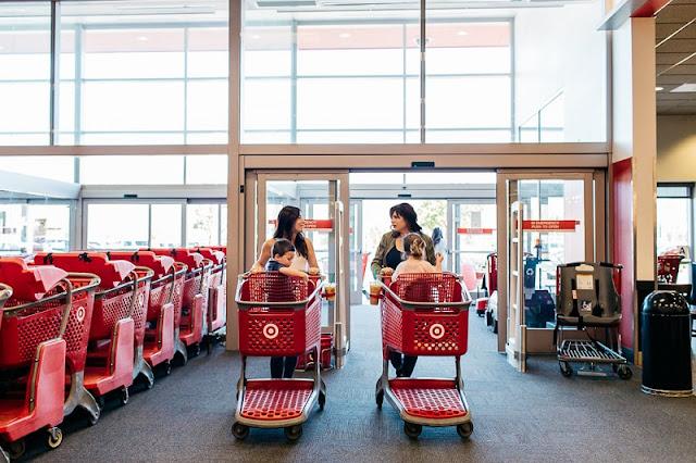 Target para comprar shampoo e condicionador em San Diego