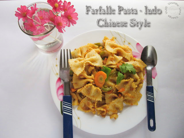 Farfalle-pasta-Indian-Recipe