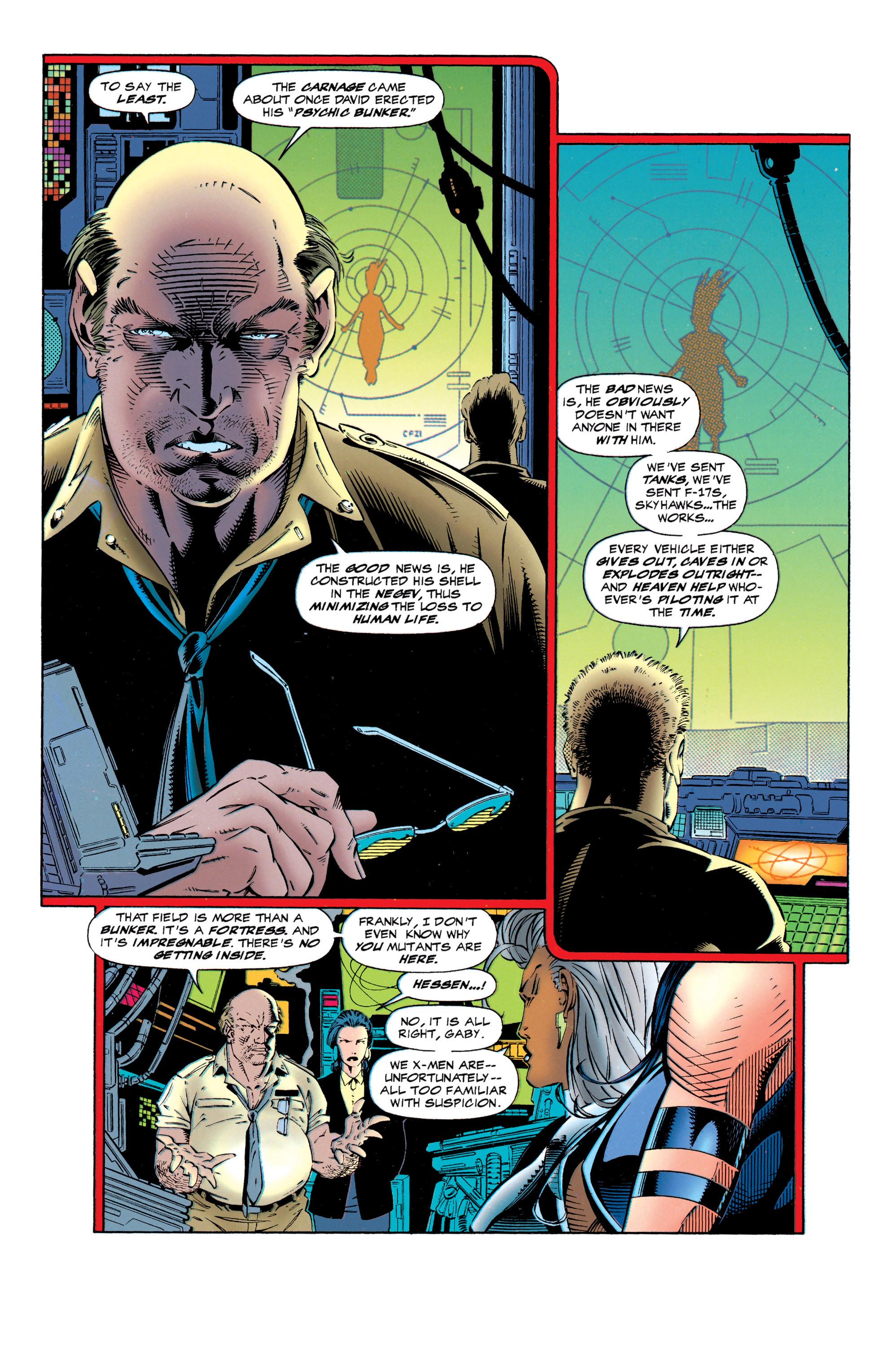 Read online Uncanny X-Men (1963) comic -  Issue #320 - 9