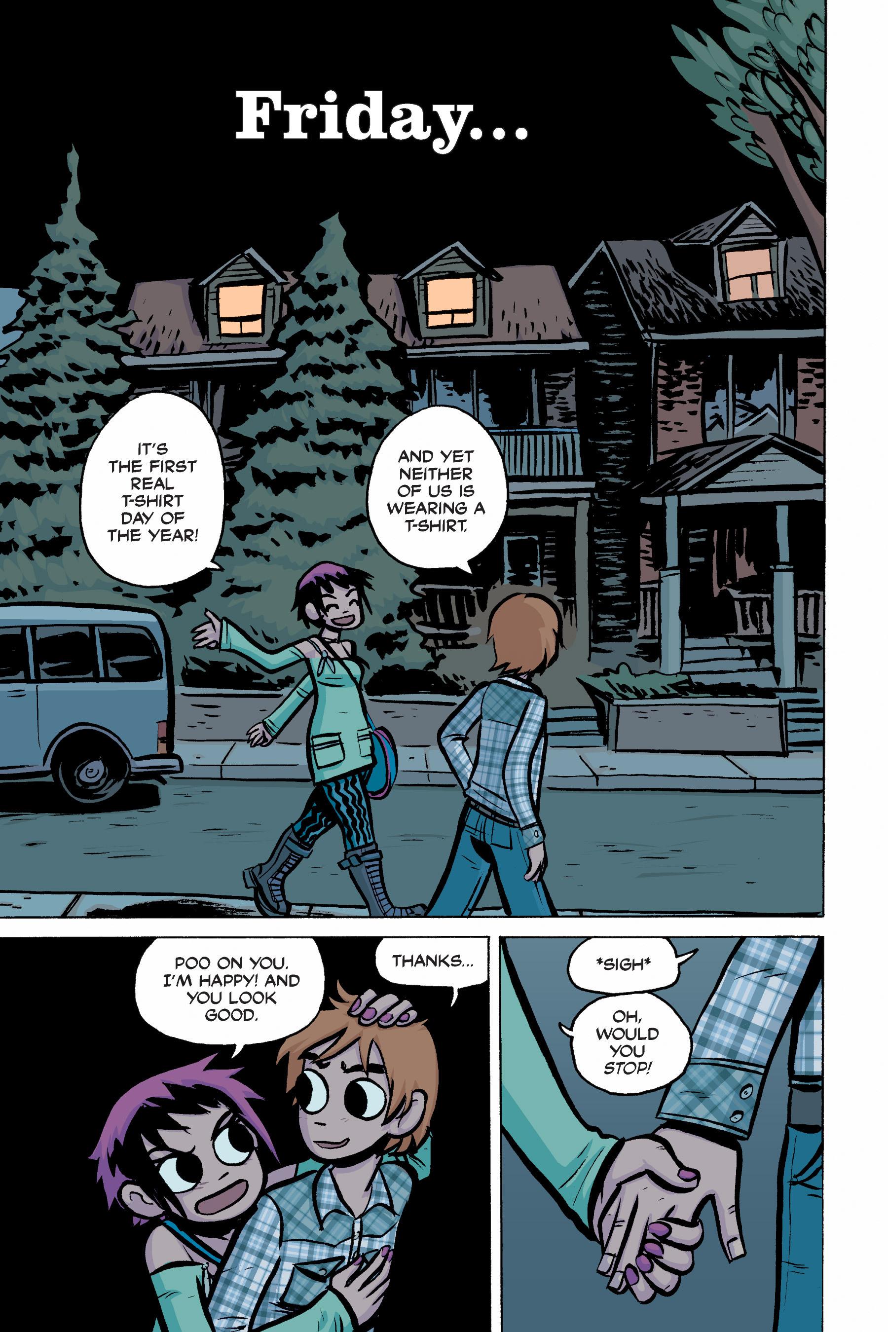 Read online Scott Pilgrim comic -  Issue #2 - 163