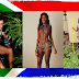 "South Africans go ""partially nude"" on heritage day."