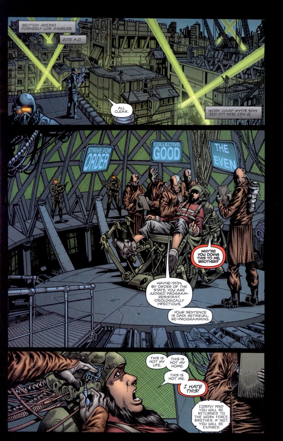 Read online Static-X: Machine comic -  Issue # Full - 3