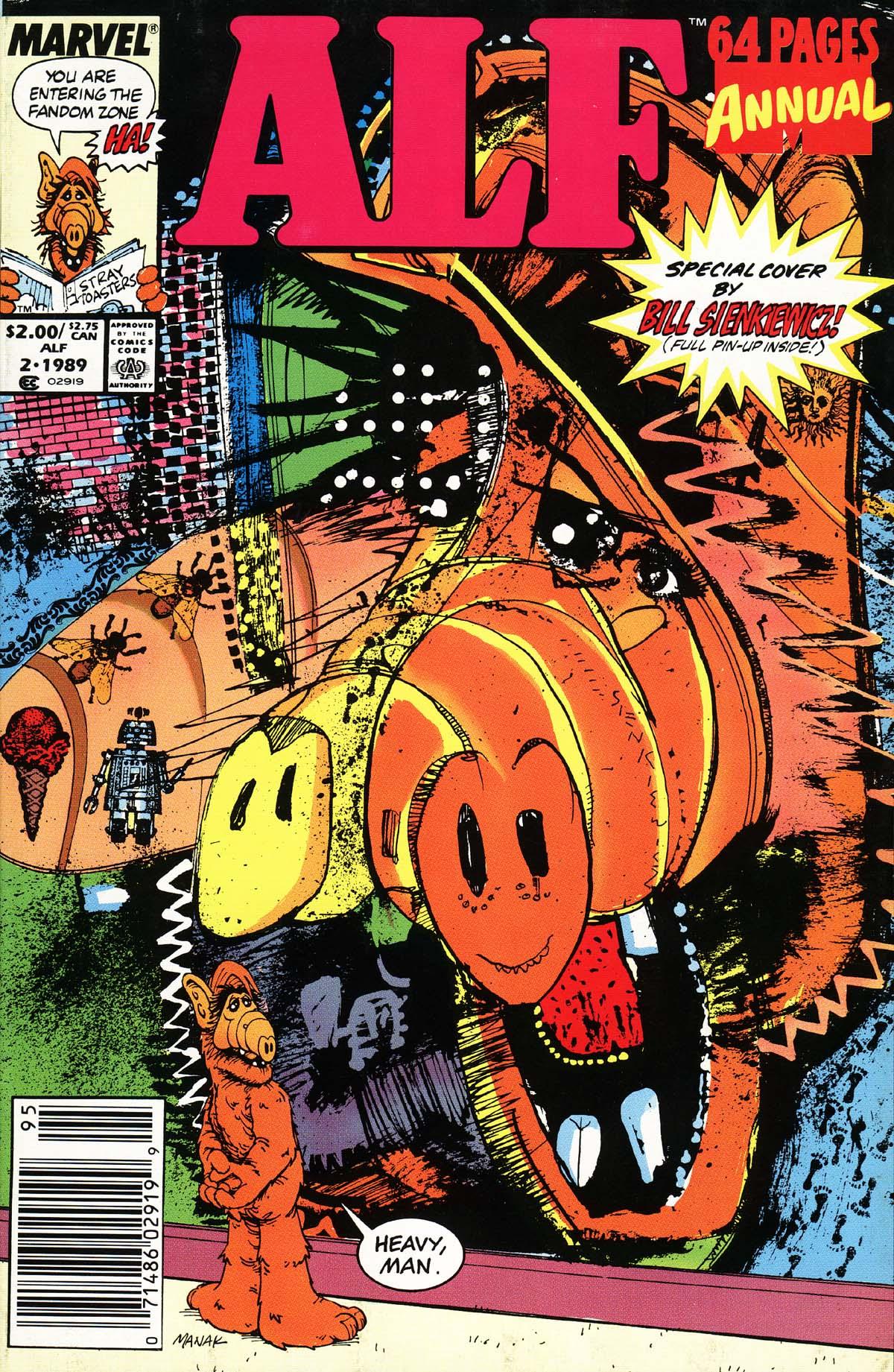 Read online ALF comic -  Issue # _Annual 2 - 1
