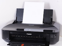 Tutorial Reset Printer Canon IX650 Error 5B00