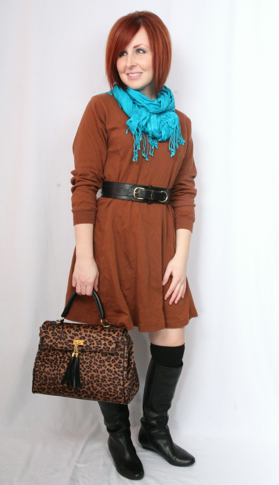 Thrift And Shout: Cute Outfit Of The Day: Gingerbread Woman