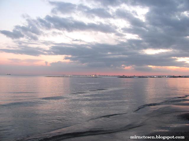 Пила - пляж вечером