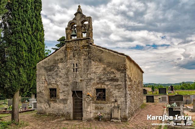 crkva sv. Andrije Karojba @ www.poistri.eu