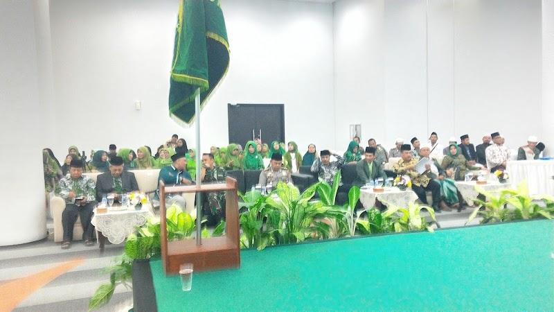 Muskercab PCNU Kabupaten Bogor, Peserta Membludak Penuhi Gedung Sentul International Convention Center
