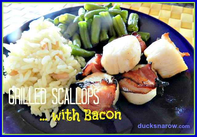 scallops, sea food, grilling tips, recipes, low carb