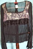 Blusa preta Danque tamanho 40