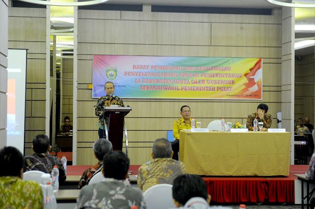 Sumsel Tingkatkan Koordinasi dan Komunikasi Antar Pemerintah Daerah