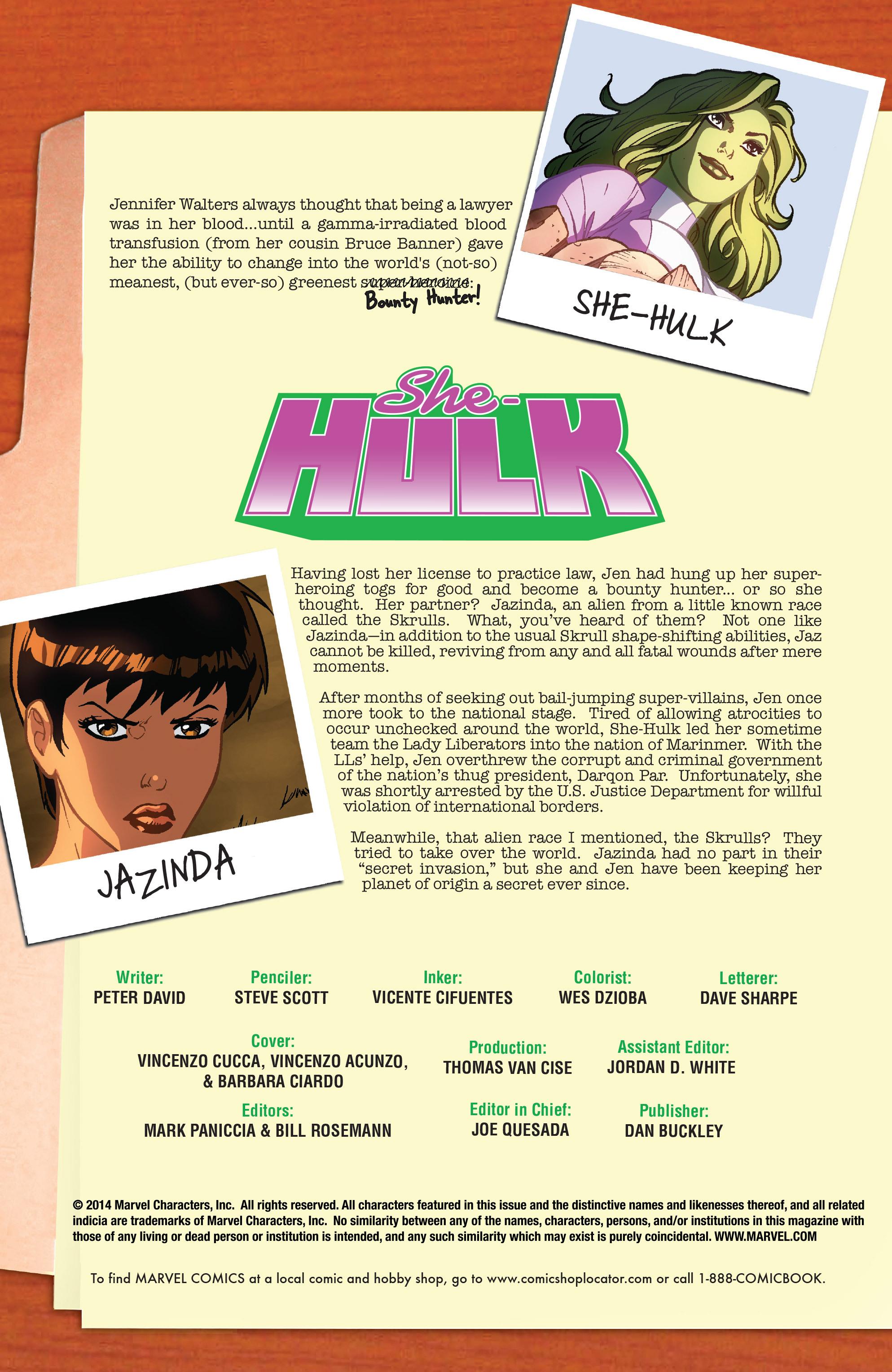 Read online She-Hulk (2005) comic -  Issue #37 - 2