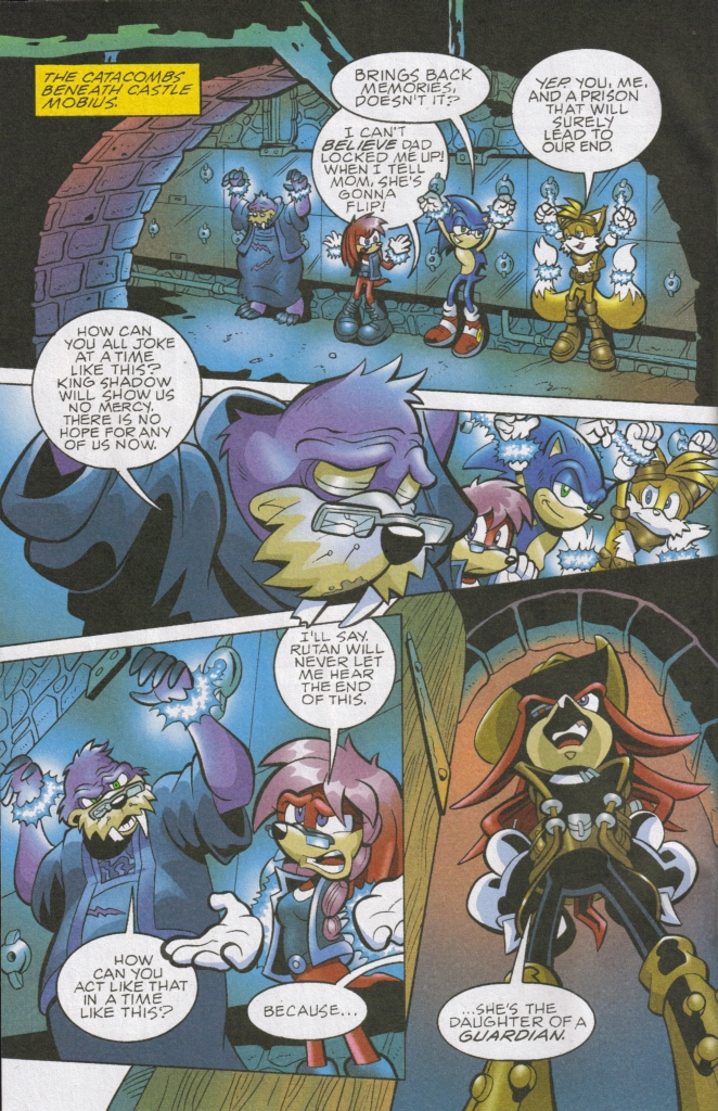 Read online Sonic The Hedgehog comic -  Issue #167 - 4