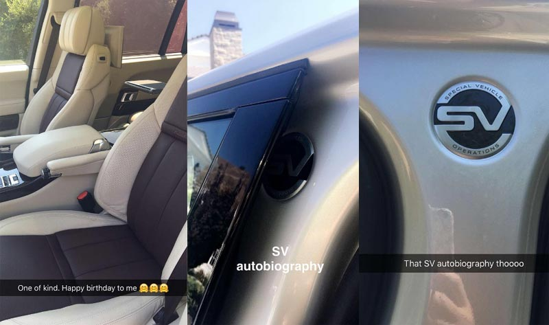 Kylie Jenner gets herself 78m naira Land Rover to celebrate 19th birthday